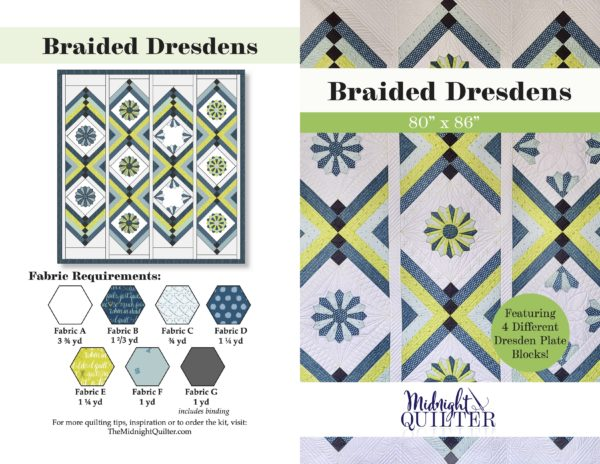 braided dresdens downloadable pattern