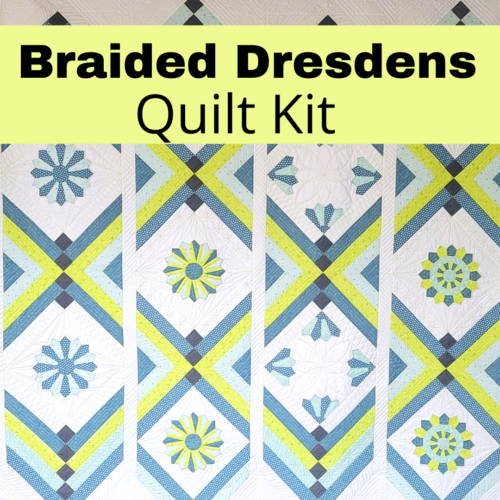 braided dresdens quilt kit