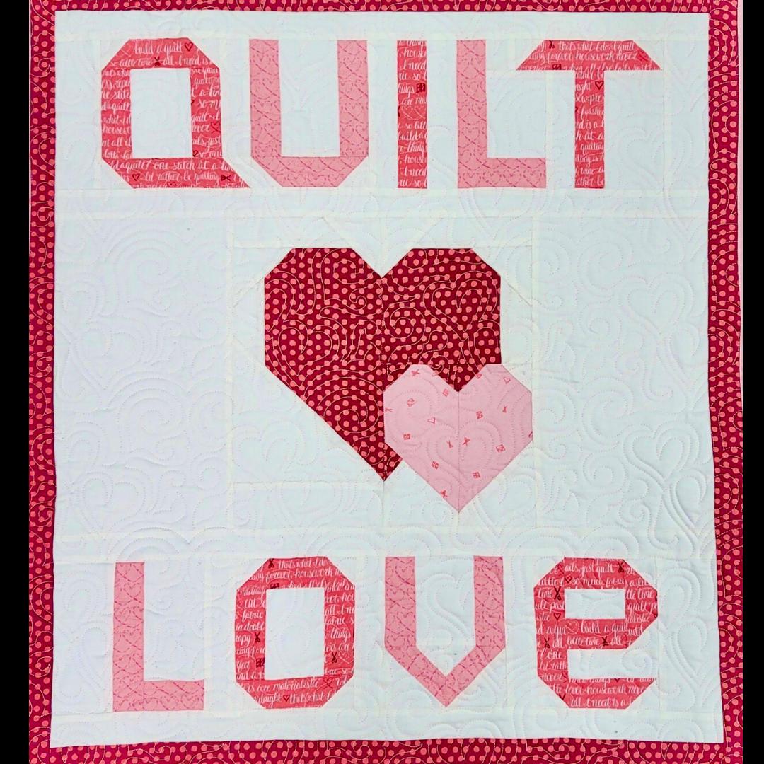 quilt love quilt kit