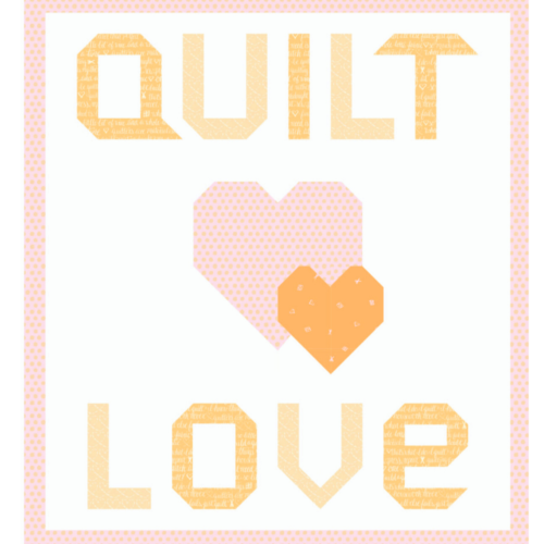 quilt love orange kit