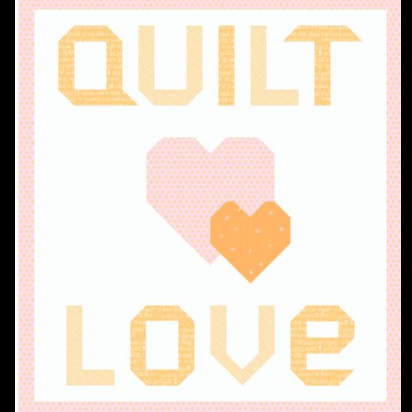 quilt love orange kit