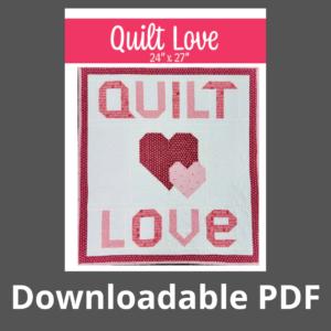 quilt love downloadable pdf