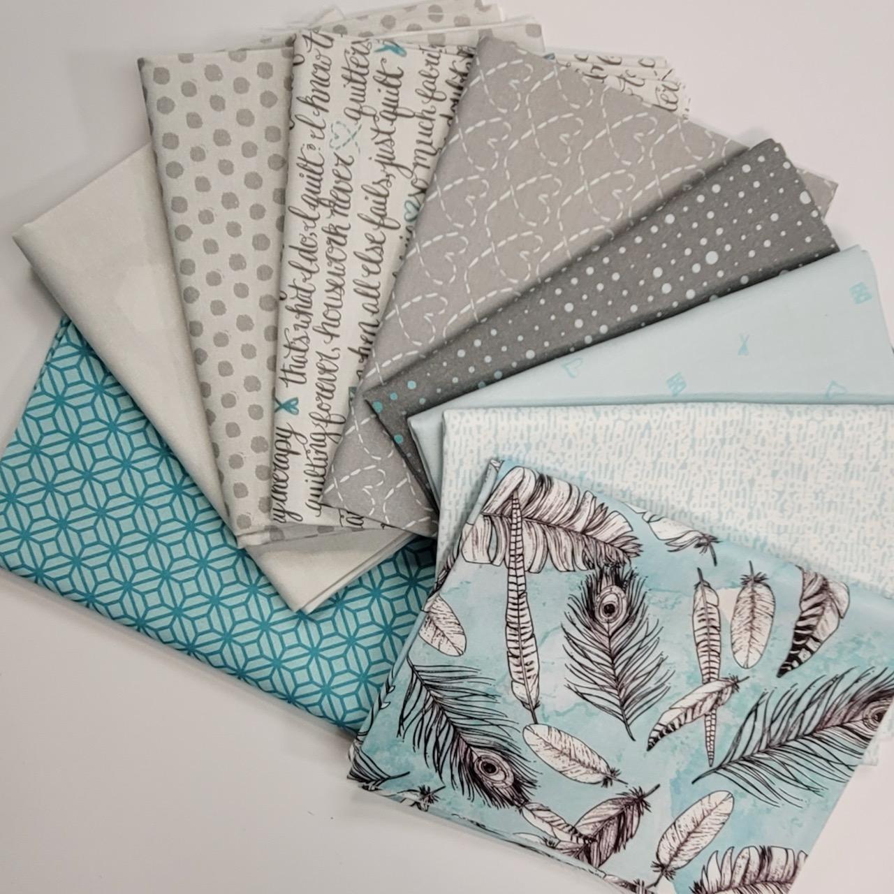 inked fabric fat quarter bundle