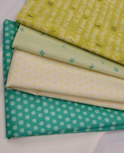 green quilt love kit