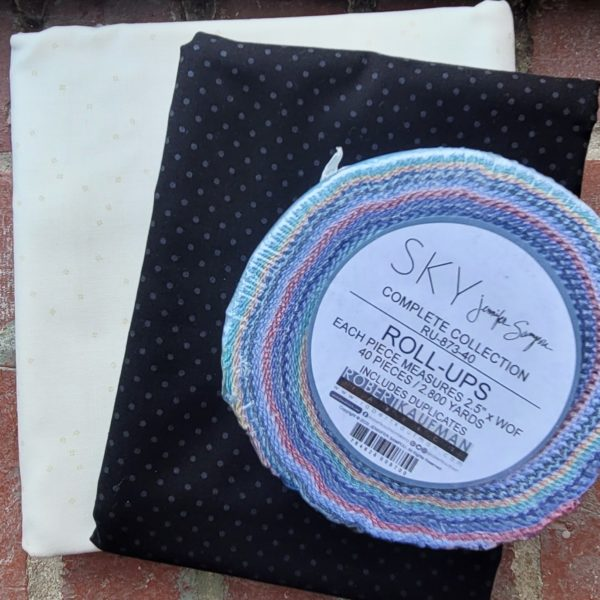 jelly roll friendly quilt kit