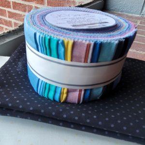 quilt kit featuring jennifer sampou sky roll up