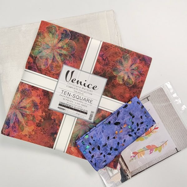 quilt kit with venice layer cake