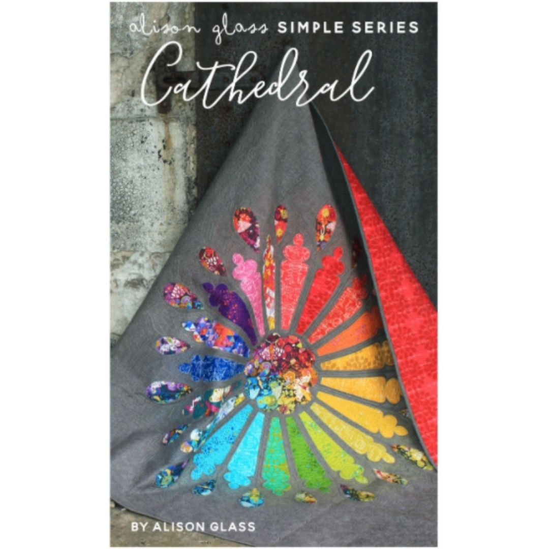 cathedral quilt pattern by alison glass
