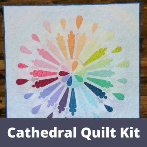 catherdal quilt kit