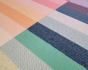 rainbow quilting panel