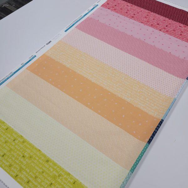 rainbow quilt fabric