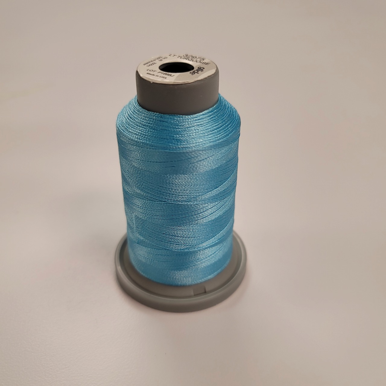 light turquoise glide thread