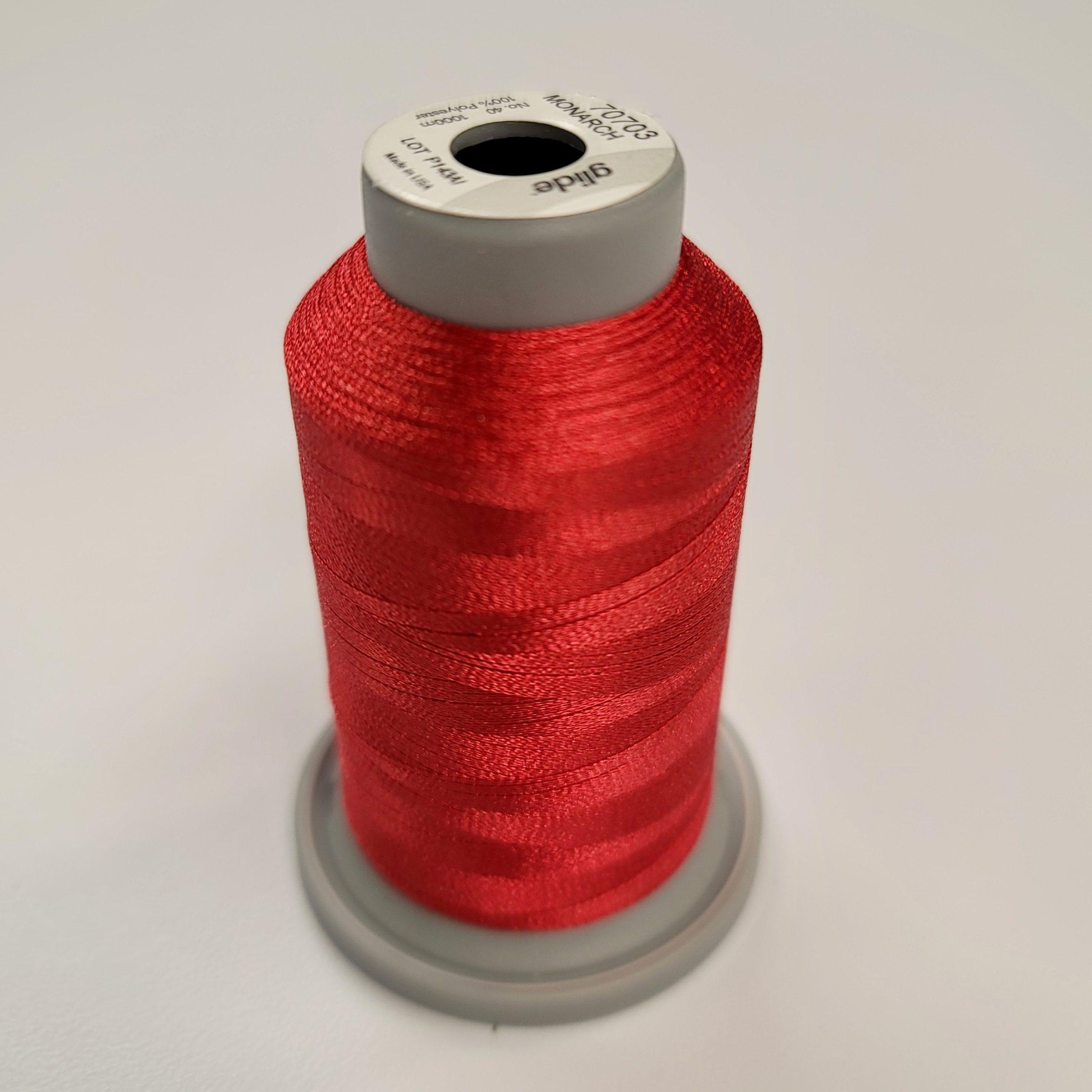 monarch red glide thread spool