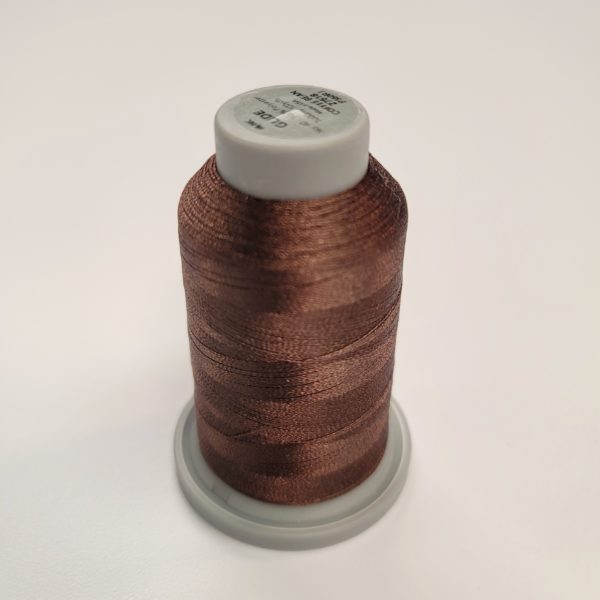 coffee bean brown glide thread spool