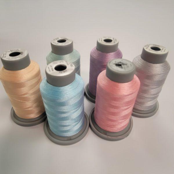 rainbow glide machine quilting thread collection