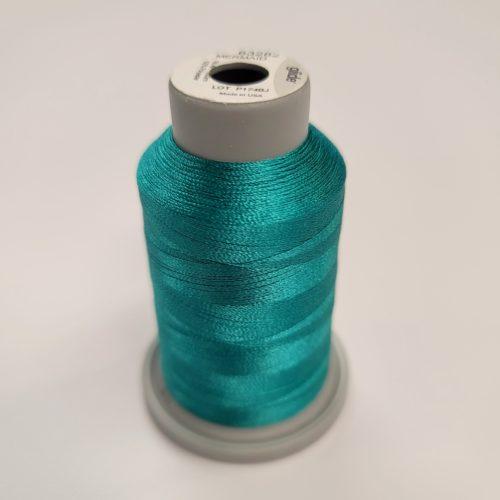 mermaid teal glide machine quilting thread