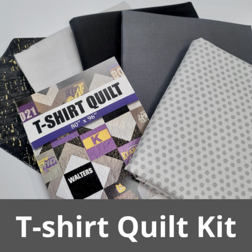 midnight quilter t-shirt quilt kit