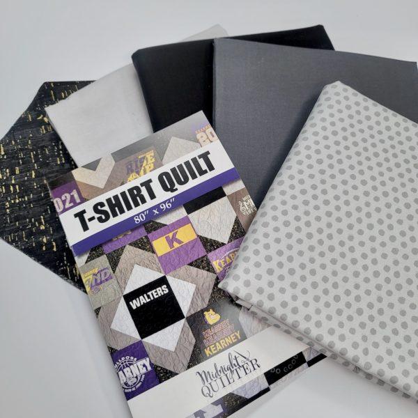 midnight quilter tshirt quilt kit