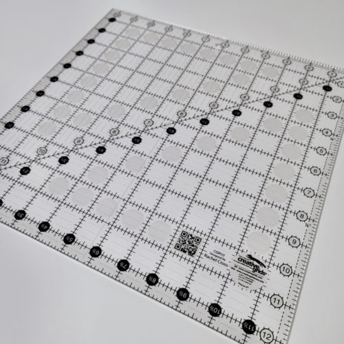 "creative grids 12 1/2"" square quilting ruler"