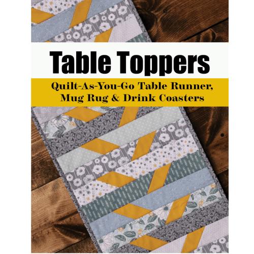 table runner mug rug quilt pattern