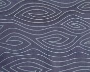 navy woodgrain fabric