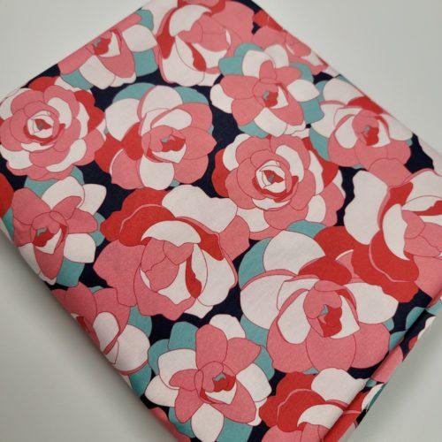 flora and foliage backing fabric