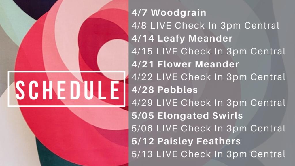 flora challenge schedule
