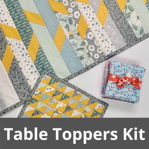 table toppers quilt kit