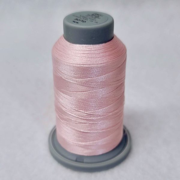 pink rose glide machine quilting thread