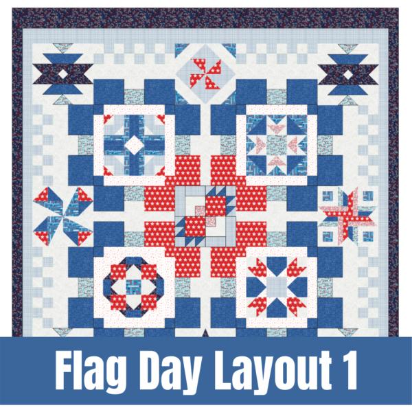 build a quilt layout 1 quilt kit