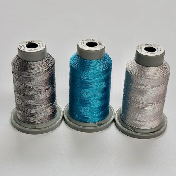 glide machine quilting thread