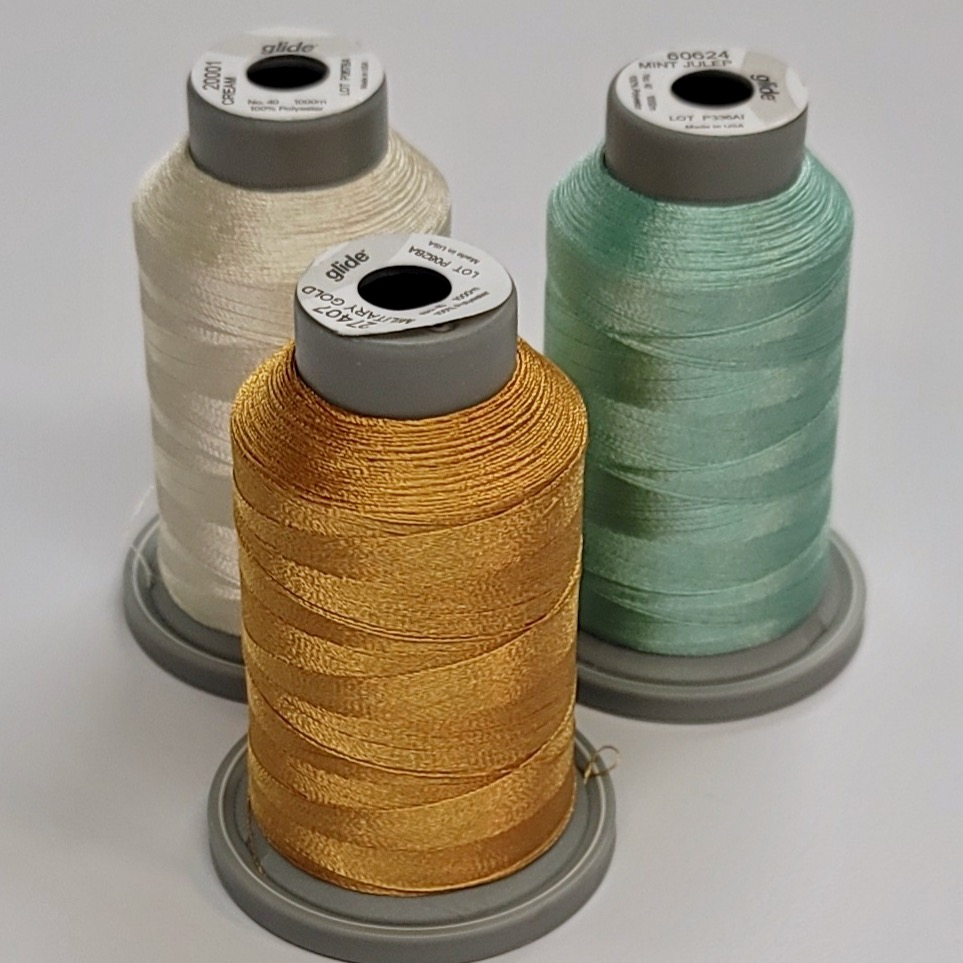 glide machine quilting thread