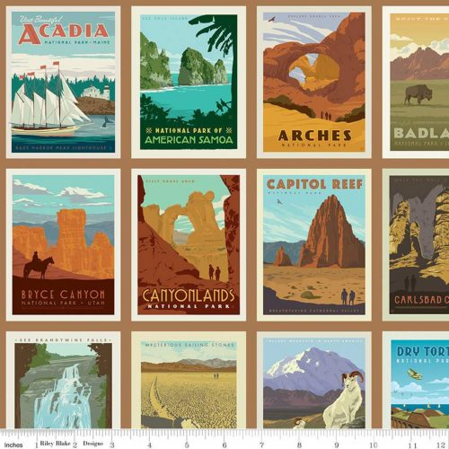 national parks fabric