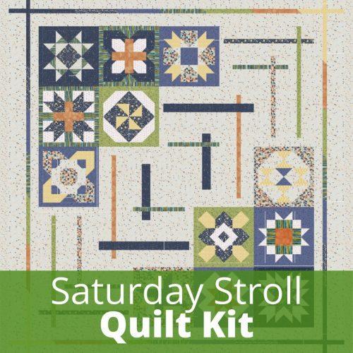saturday stroll quilt kit