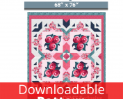 pillow panel downloadable quilt pattern