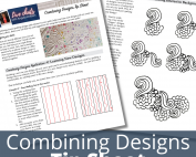 downloadable machine quilting diagrams and tip sheet