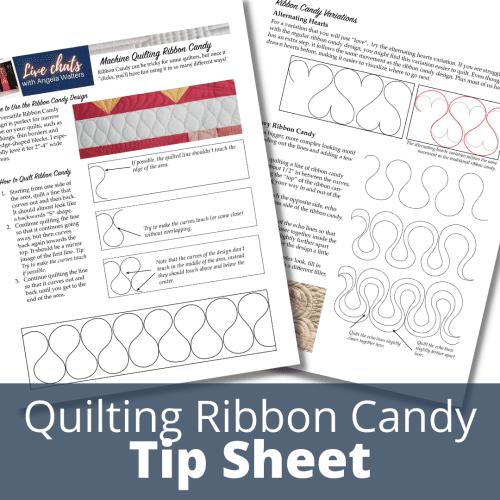 ribbon candy tip sheet downloadable pdf