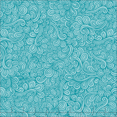 teal feathers quilting fabric
