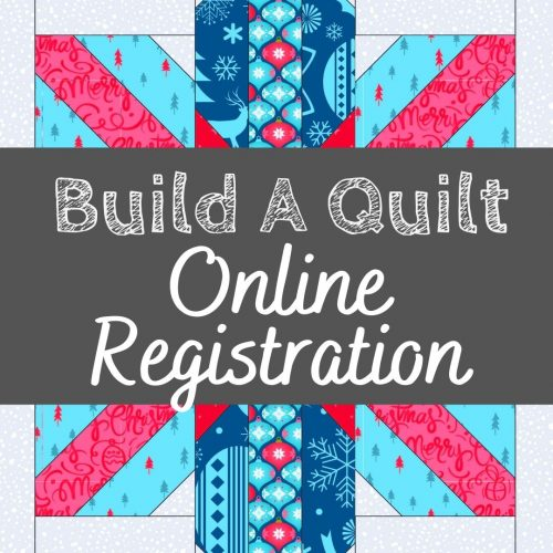build a quilt block of the month